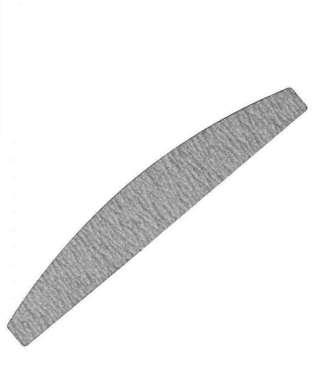 Vijlen grijs halve maan 100/180 - 2 stuks