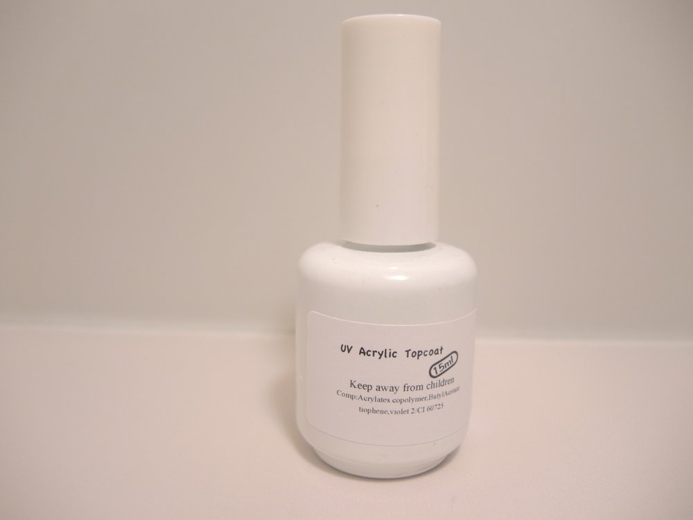 UV acrylic topcoat 15ml
