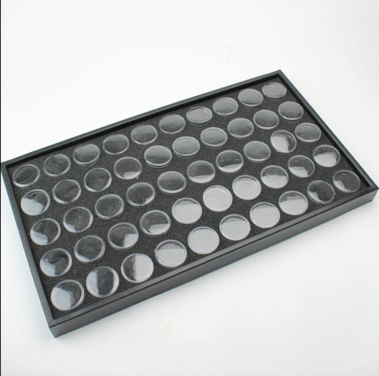 Display box voor 50 potjes, inclusief 50 binnen potjes