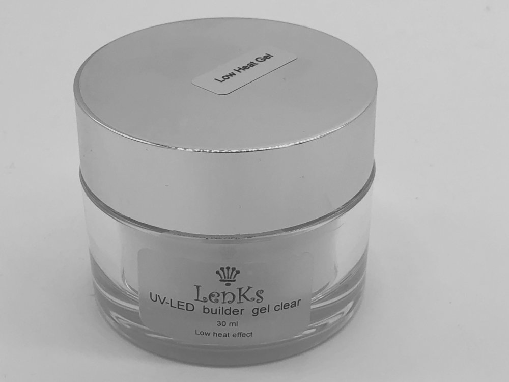Lenks UV-LED  builder gel clear 36gr Low heat effect