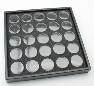 Display box voor 25 potjes, inclusief 25 binnen potjes