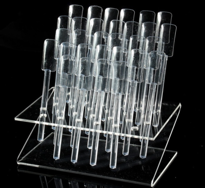 Popsticks display 32 stuks clear