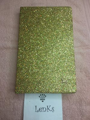 gold nails display book