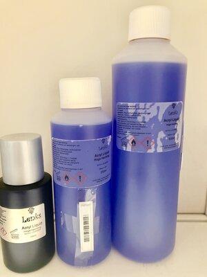 Acryl vloeistof  hoge snelheid 1000ml competition liquid
