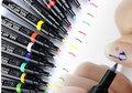 Nail Art Marker Pen - shake - pump - use